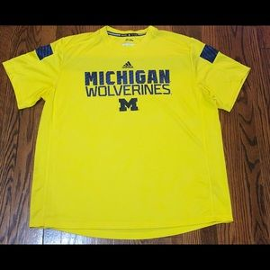Adidas Michigan Wolverines Climalite 2XL